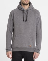 Forvert Dark Grey Basic Angelo Hoody Black
