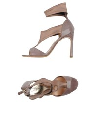 Emporio Armani Footwear Sandals Women Dove Grey