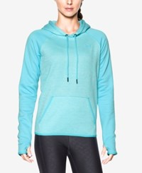 Under Armour Storm Heathered Fleece Hoodie Venetian Blue