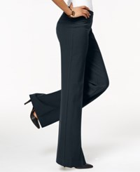 Styleandco. Style And Co. Stretch Wide Leg Pants Only At Macy's Navy