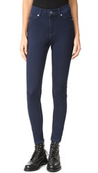 Cheap Monday High Spray Jeans Solid Blue