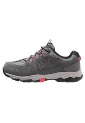 Jack Wolfskin Mtn Attack 5 Texapore Walking Shoes Hibiscus Red Dark Grey