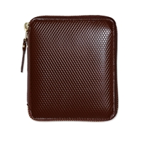 Comme Des Garcons Sa2100lg Luxury Wallet Brown