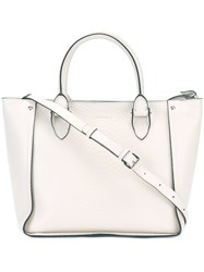 Alexander Mcqueen 'Inside Out' Tote White