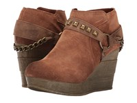 Sbicca Cressida Tan Women's Wedge Shoes