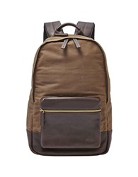 Fossil Estate Backpack Brown