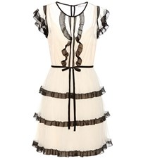 Red Valentino Tulle Dress White