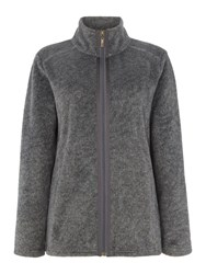 Tigi Fleece Jacket Charcoal
