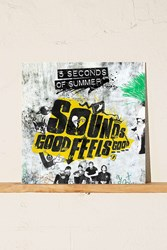 Urban Outfitters 5 Seconds Of Summer Sounds Good Feels Good Lp Black