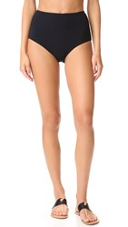 Zimmermann Separates High Waisted Bikini Bottoms Black