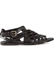 Officine Creative Strappy Sandals Black