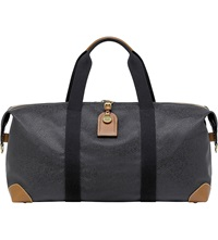 Mulberry Medium Clipper Holdall Black Cognac