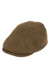 Barbour Men's Gamefair Tweed Wool Driving Cap