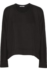 Alexander Wang T By Modal Blend French Terry Sweatshirt Black