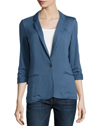 Soft Joie Trevor Knit Blazer Dark Denim