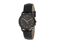 Timex Mens Classic Round Easy Reader Watch Black Sport Watches