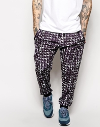 Jaded London Sweatpants In Stud Print Grey
