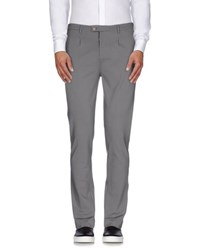 Paolo Pecora Trousers Casual Trousers Men Grey