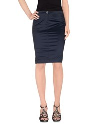 Blu Byblos Skirts Knee Length Skirts Women Dark Blue