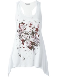 Alexander Mcqueen 'Treasure' Tank Top White
