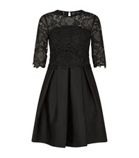 Ted Baker Maaria Lace Bodice Dress Female Black