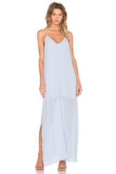 Keepsake Let Go Maxi Dress Baby Blue