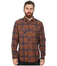 Tavik Vincent Brown Men's Long Sleeve Button Up