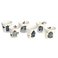 Pols Potten Freedom Bird Cups Set Of 6