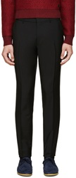 Burberry Black Wool Stirling Trousers