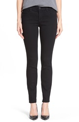 'Ab Solution And Booty Lift' Stretch Skinny Jeans Nordstrom Exclusive Black