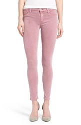 Women's Hudson Jeans 'Nico' Shredded Ankle Jeans Rose Coupe