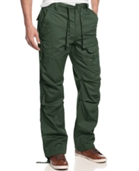 Sean John Pleat Pocket Flight Pants Grapeleaf