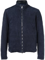 Tod's Zip Up Jacket Blue