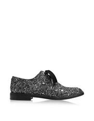 Marc Jacobs Helena Silver Glitter Oxford Shoe