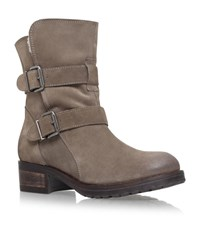 Kurt Geiger London Richmond Biker Boots Female Brown