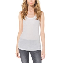 Michael Kors Ribbed Tank Top White