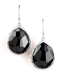 Small Teardrop Earrings Black Onyx Ippolita