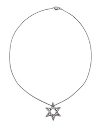 Damiani 18K Diamond Pave Star Of David Pendant Necklace Gold