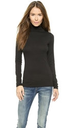 Velvet Talisia Whisper Classic Turtleneck Black