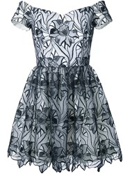 Alice Olivia 'Izabelle' Dress Black