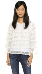 Candela Tilgham Top Off White