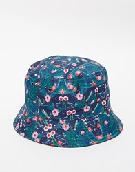 Hype Leaf Bucket Hat Multi