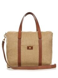 Mismo M S Beach Canvas Tote