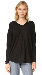 Tse Cashmere Dolman Sleeve Sweater Black