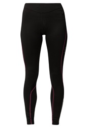Gore Running Wear Tights Black Magenta