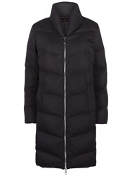 Jaeger Long Puffer Coat Black