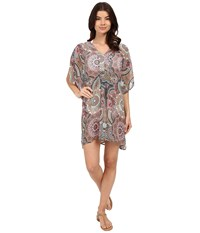 Red Carter Montezuma Caftan Cover Up Cream Women's Swimwear Beige