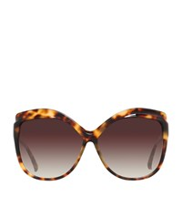 Linda Farrow Rectangle Sunglasses Female Tortoiseshell