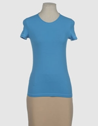 Stefano Mortari Short Sleeve T Shirts Azure