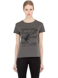 Blk Dnm T Shirt 75 In Cotton Jersey